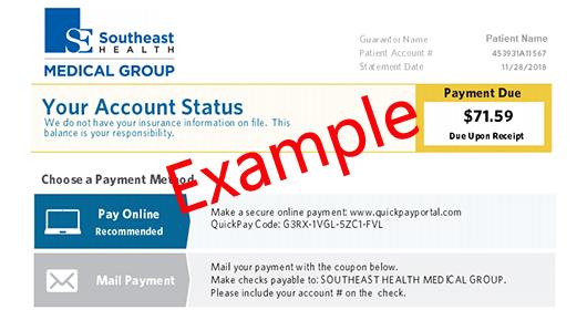 Online Bill Pay - Southeast Health | Dothan, AL